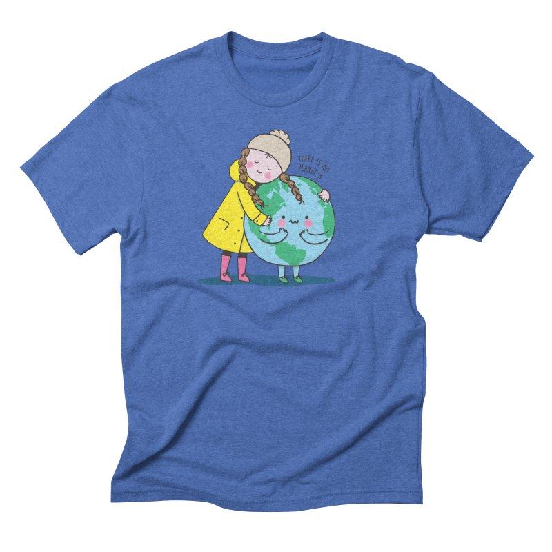 THERE IS NO PLANET B Men's Triblend T-Shirt by RiLi's Artist Shop