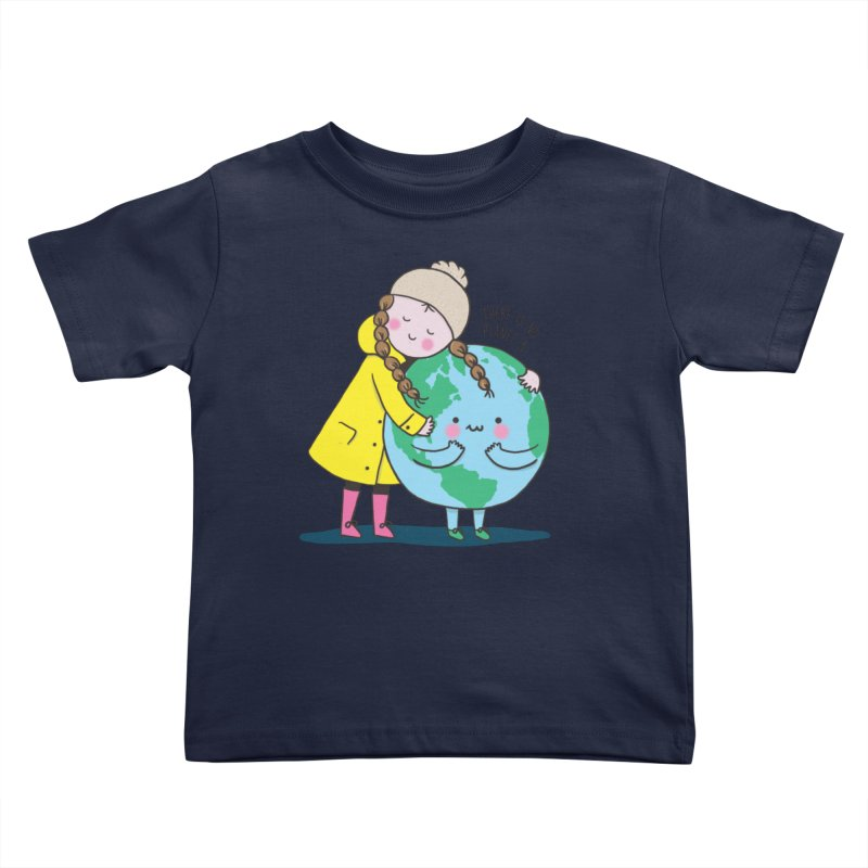 THERE IS NO PLANET B Kids Toddler T-Shirt by RiLi's Artist Shop