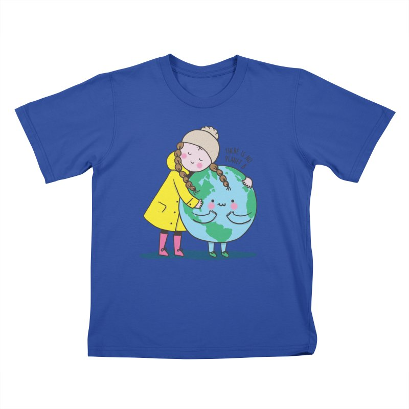 THERE IS NO PLANET B Kids T-Shirt by RiLi's Artist Shop