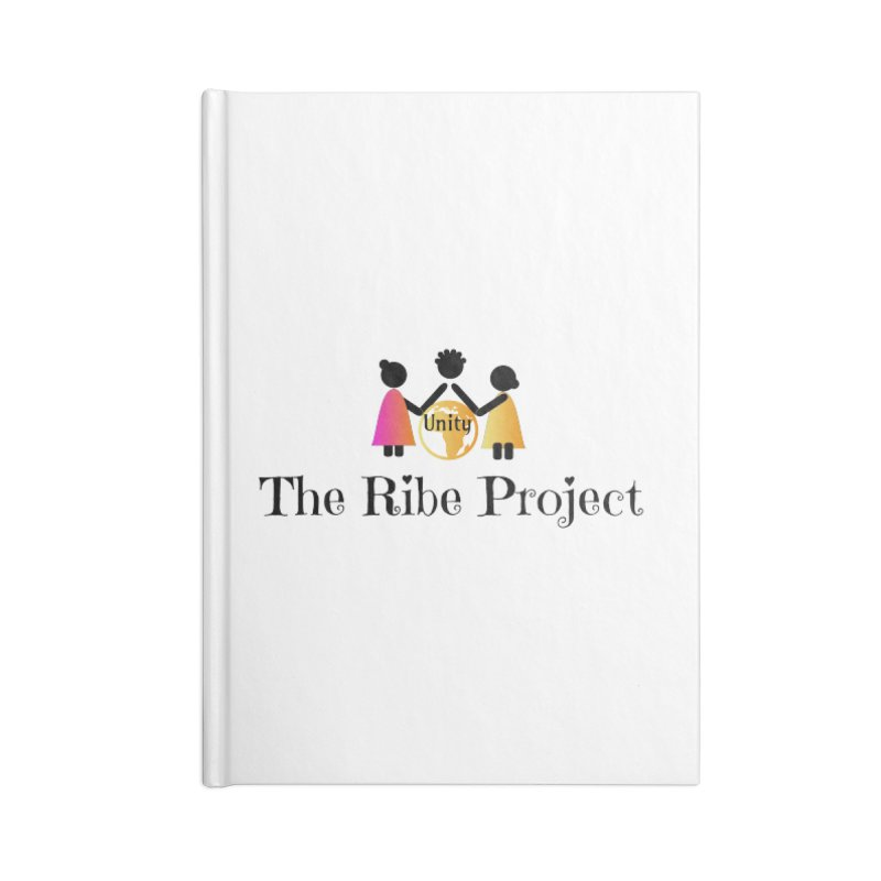 Ribe Project Logo Gear in Blank Journal Notebook by Ribe Project's Artist Shop