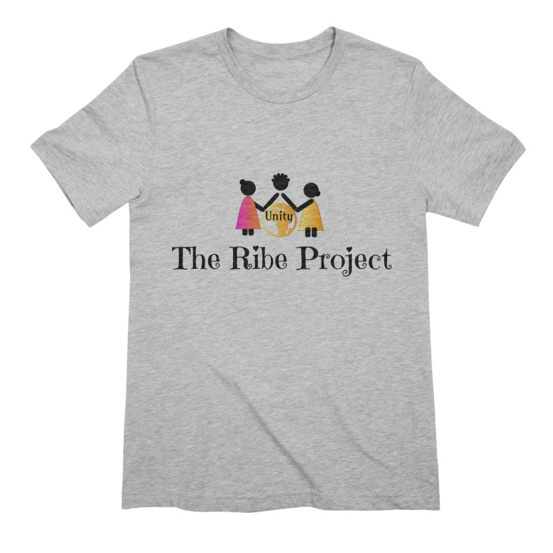 Ribe Project Logo Gear in Men's Extra Soft T-Shirt Heather Grey by Ribe Project's Artist Shop