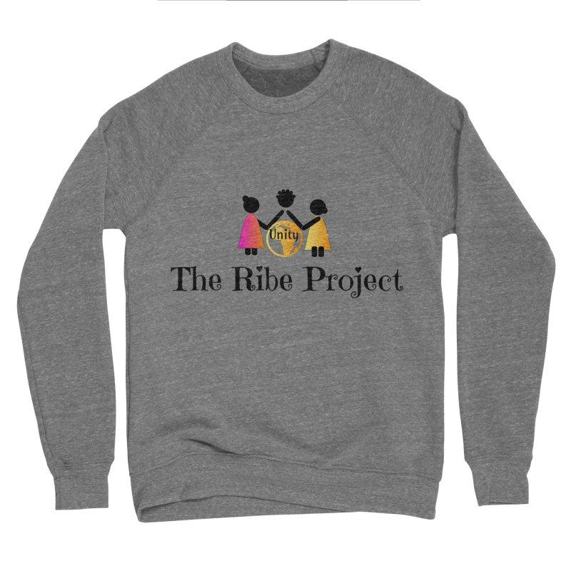 Ribe Project Logo Gear in Women's Sponge Fleece Sweatshirt Grey Triblend by Ribe Project's Artist Shop