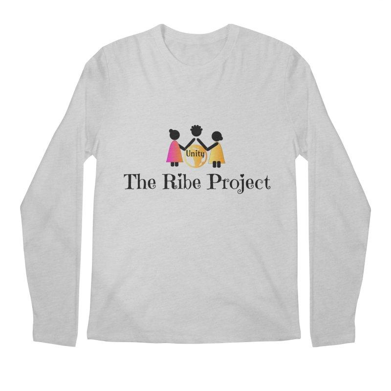 Ribe Project Logo Gear in Men's Regular Longsleeve T-Shirt Heather Grey by Ribe Project's Artist Shop