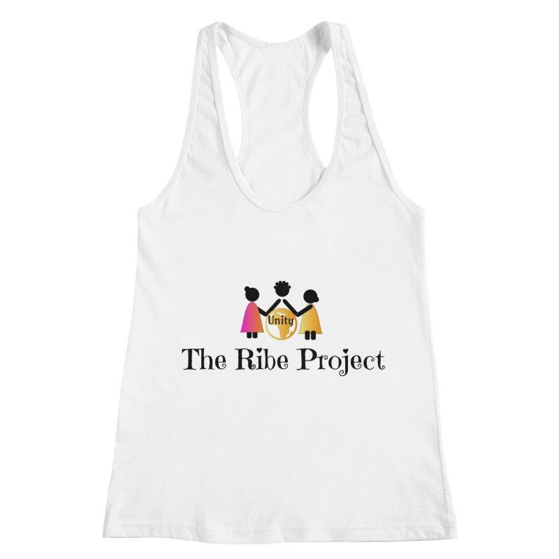 Ribe Project Logo Gear in Women's Racerback Tank White by Ribe Project's Artist Shop