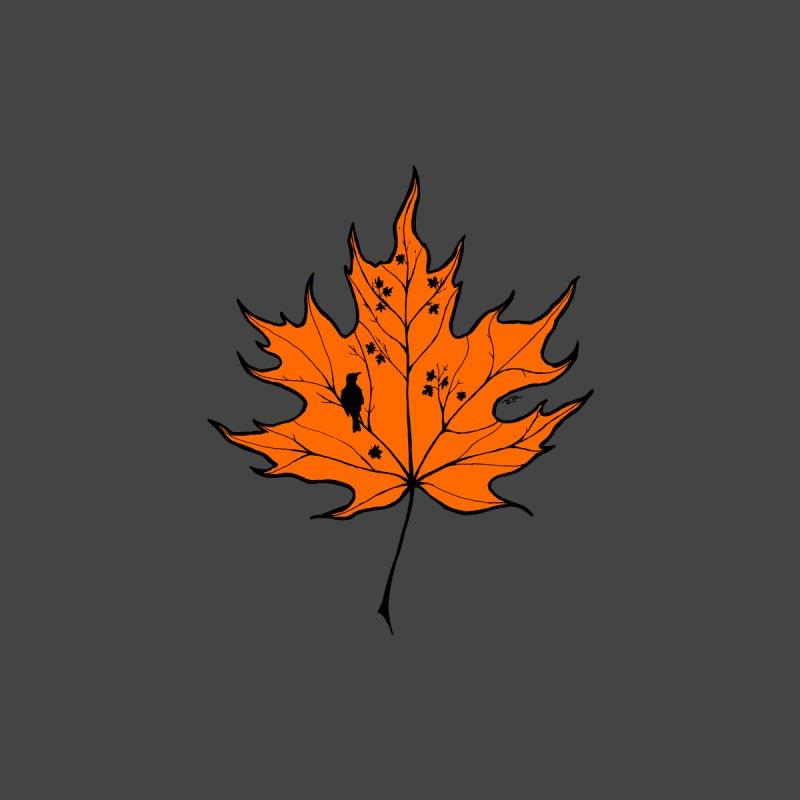 Autumn Men's V-Neck by RichRogersArt