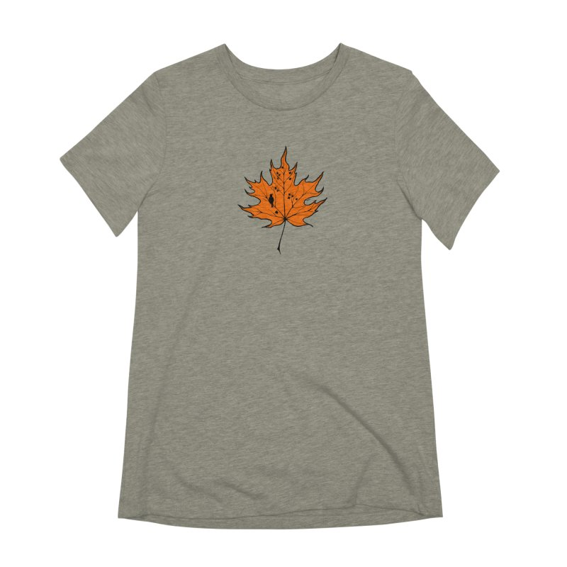 Autumn Women's Extra Soft T-Shirt by RichRogersArt