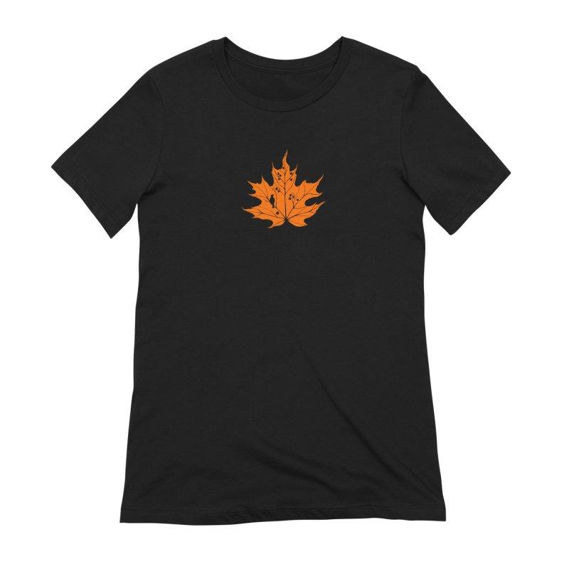 Autumn Women's Extra Soft T-Shirt by RichRogersArt