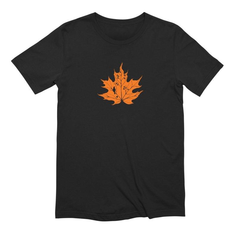 Autumn Men's Extra Soft T-Shirt by RichRogersArt