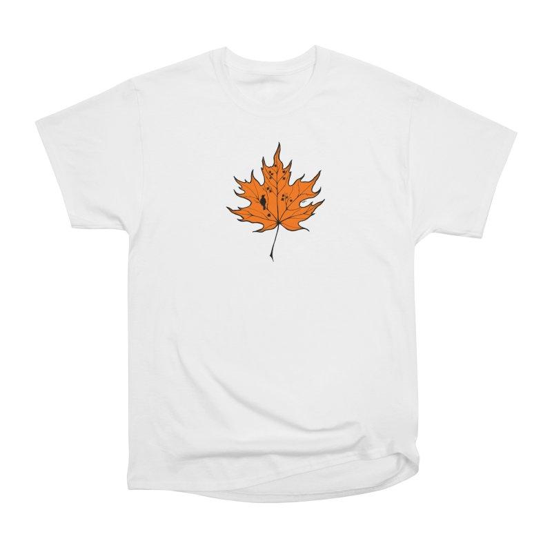 Autumn Men's Heavyweight T-Shirt by RichRogersArt