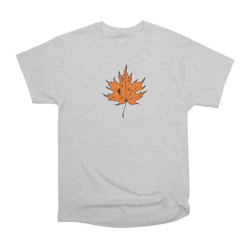 Autumn Men's Heavyweight T-Shirt by RichRogersArt