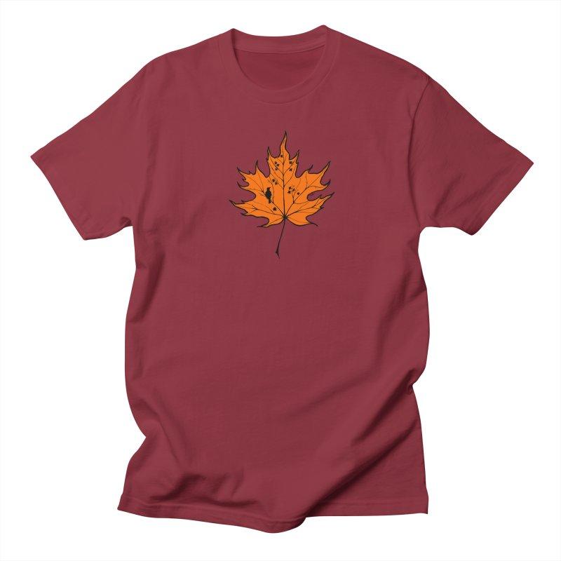 Autumn Men's Regular T-Shirt by RichRogersArt