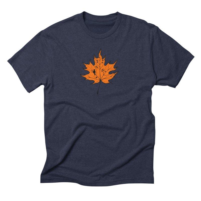 Autumn Men's Triblend T-Shirt by RichRogersArt