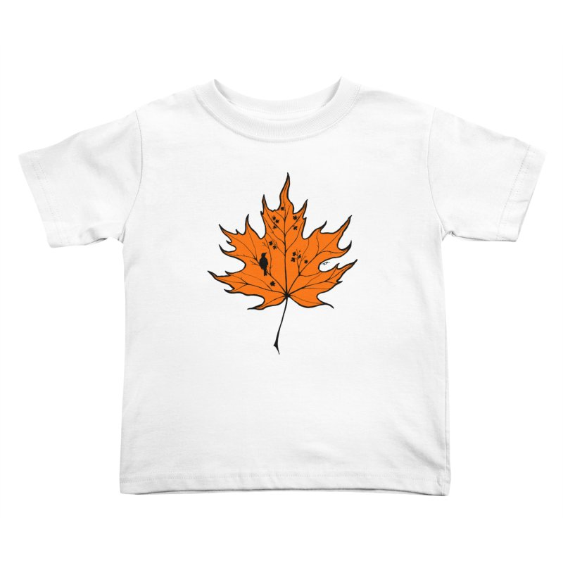 Autumn Kids Toddler T-Shirt by RichRogersArt