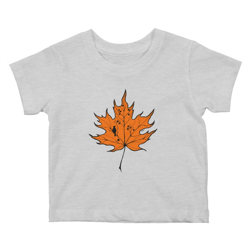 Autumn Kids Baby T-Shirt by RichRogersArt