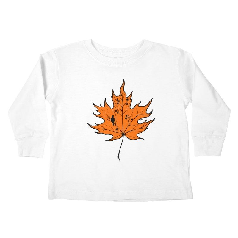 Autumn Kids Toddler Longsleeve T-Shirt by RichRogersArt