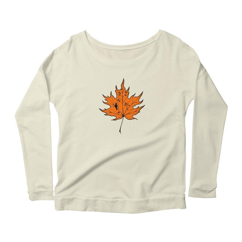Autumn Women's Scoop Neck Longsleeve T-Shirt by RichRogersArt