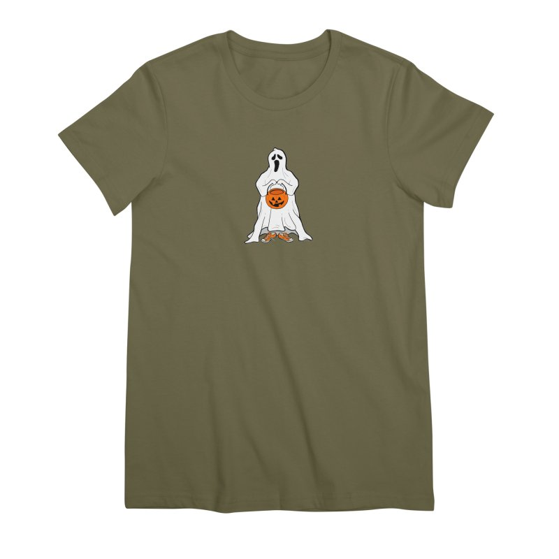 Trick or Treat Women's Premium T-Shirt by RichRogersArt