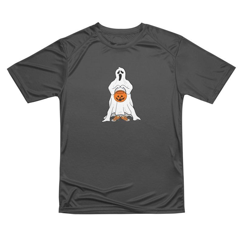 Trick or Treat Women's Performance Unisex T-Shirt by RichRogersArt