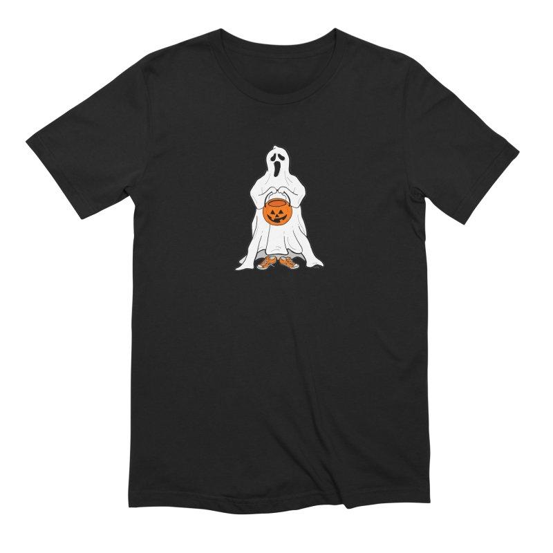 Trick or Treat Men's Extra Soft T-Shirt by RichRogersArt