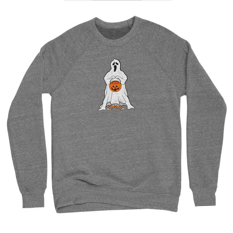 Trick or Treat Men's Sponge Fleece Sweatshirt by RichRogersArt