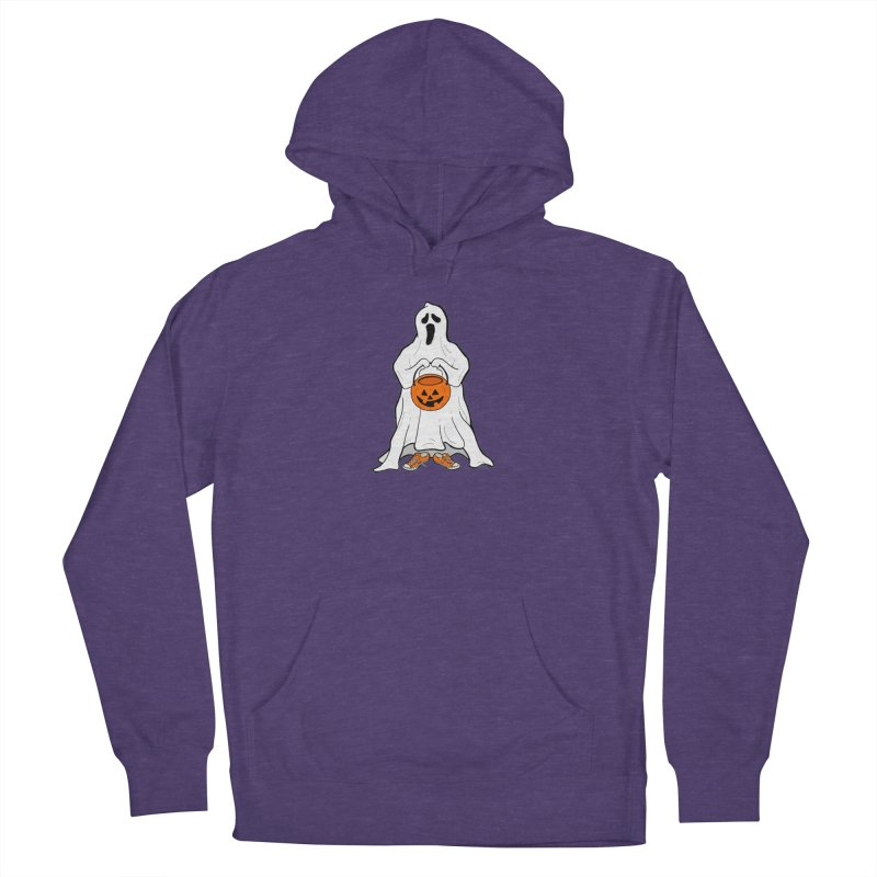 Trick or Treat Men's French Terry Pullover Hoody by RichRogersArt