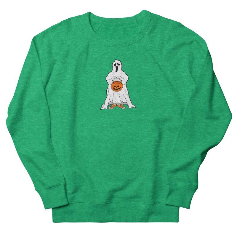 Trick or Treat Men's French Terry Sweatshirt by RichRogersArt