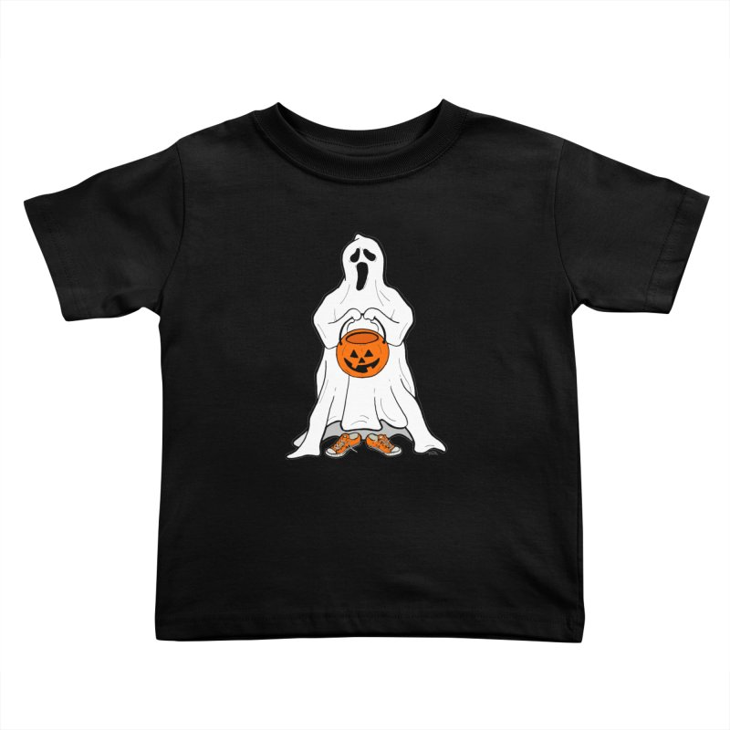 Trick or Treat Kids Toddler T-Shirt by RichRogersArt