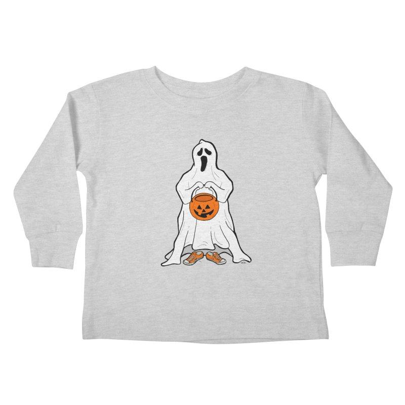 Trick or Treat Kids Toddler Longsleeve T-Shirt by RichRogersArt