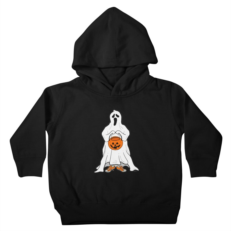Trick or Treat Kids Toddler Pullover Hoody by RichRogersArt