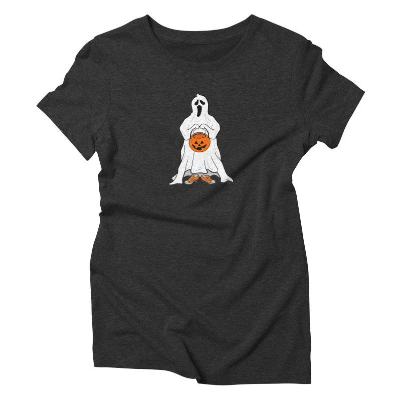 Trick or Treat Women's Triblend T-Shirt by RichRogersArt