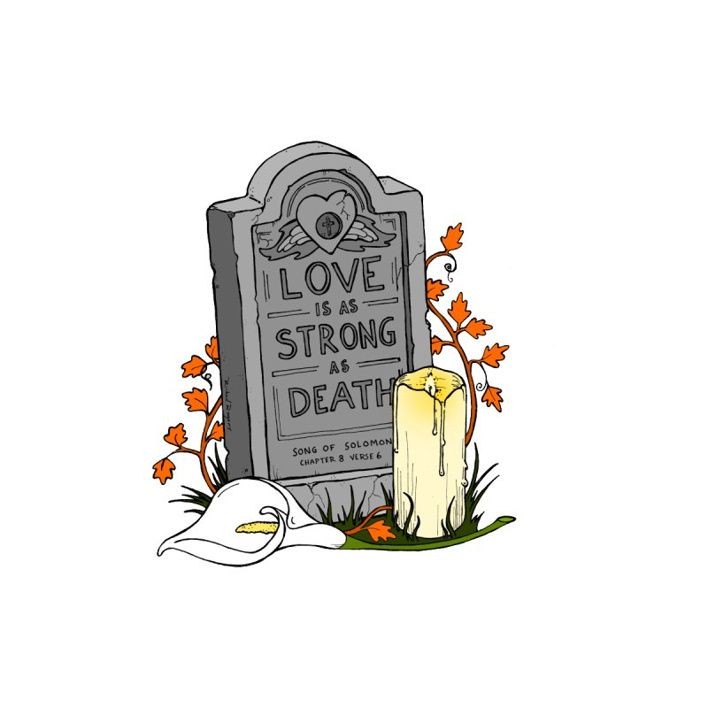 Love is Strong as Death by RichRogersArt