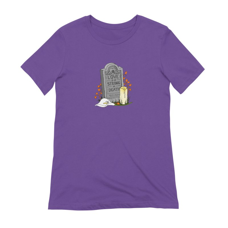 Love is Strong as Death Women's Extra Soft T-Shirt by RichRogersArt