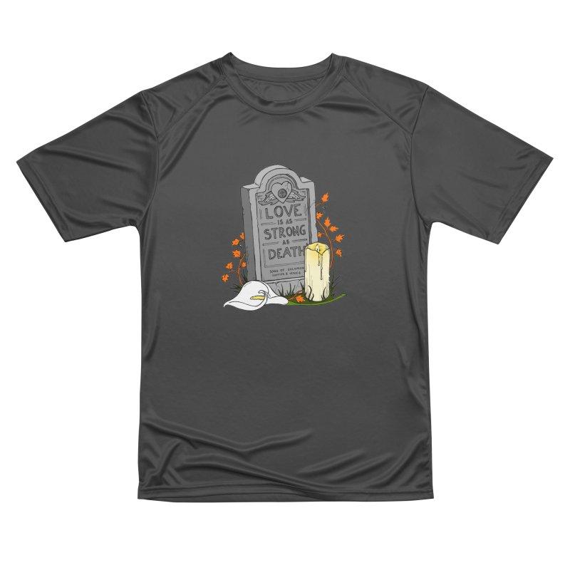 Love is Strong as Death Women's Performance Unisex T-Shirt by RichRogersArt