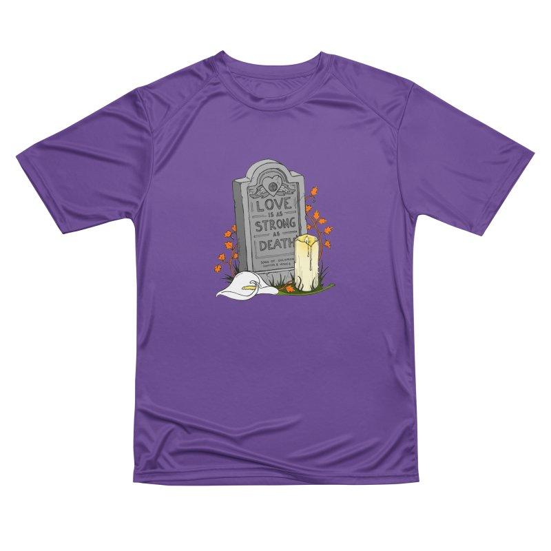 Love is Strong as Death Men's Performance T-Shirt by RichRogersArt