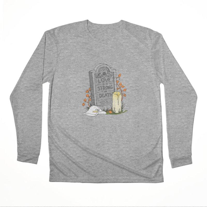 Love is Strong as Death Women's Performance Unisex Longsleeve T-Shirt by RichRogersArt