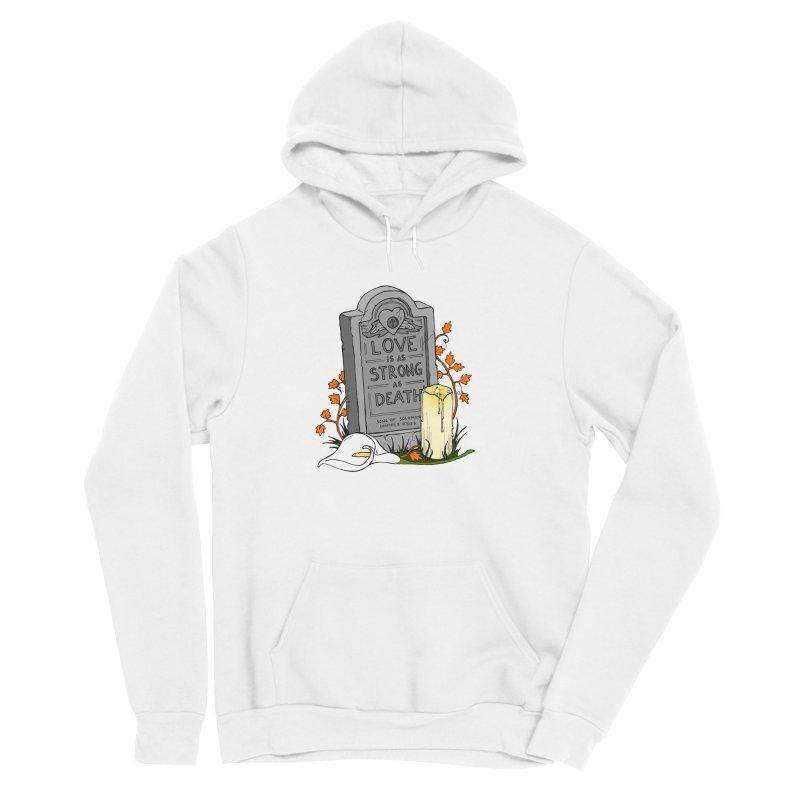 Love is Strong as Death Women's Sponge Fleece Pullover Hoody by RichRogersArt