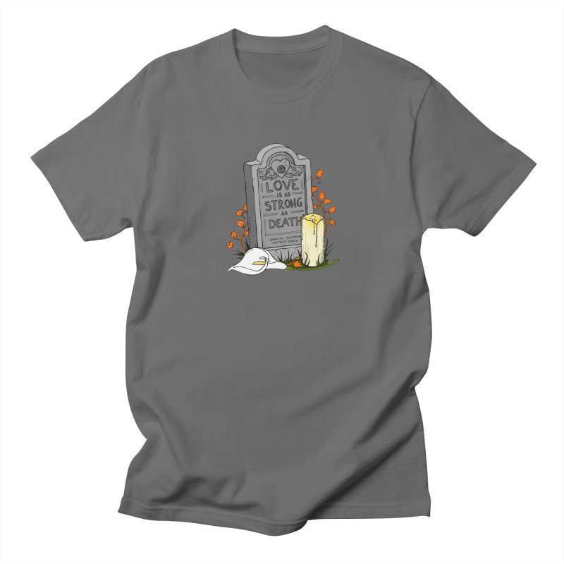 Love is Strong as Death Men's T-Shirt by RichRogersArt