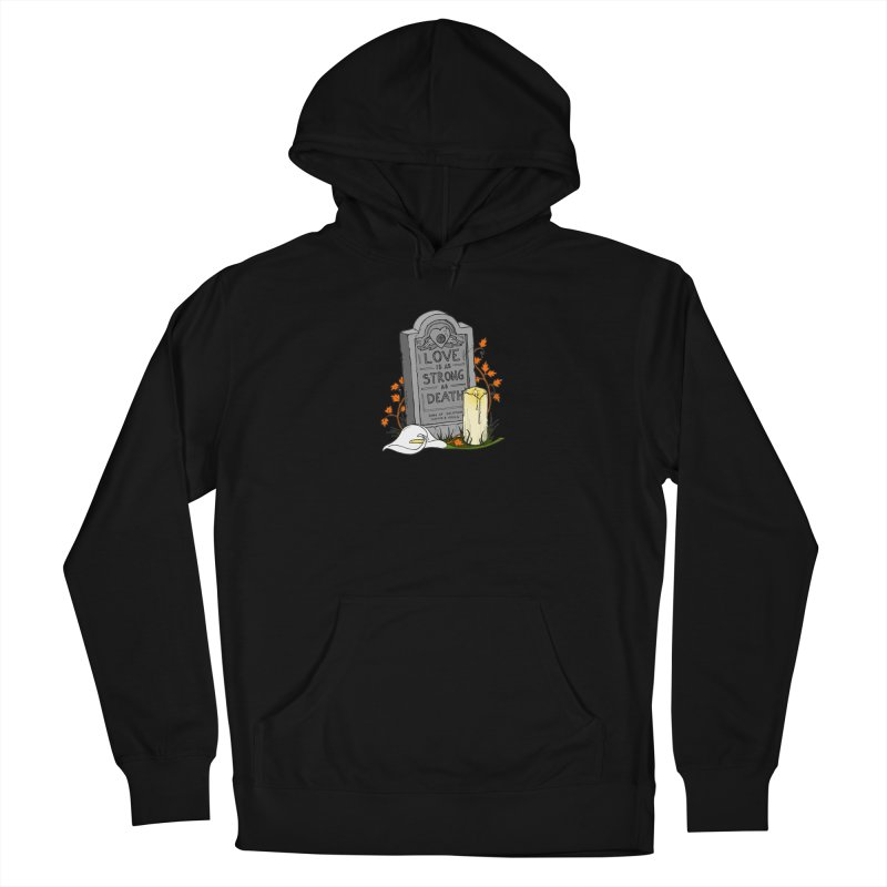 Love is Strong as Death Men's French Terry Pullover Hoody by RichRogersArt
