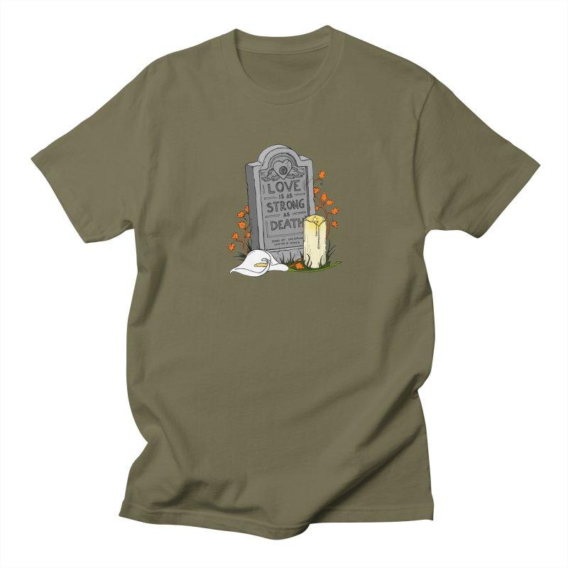 Love is Strong as Death Men's T-Shirt by RichRogersArt