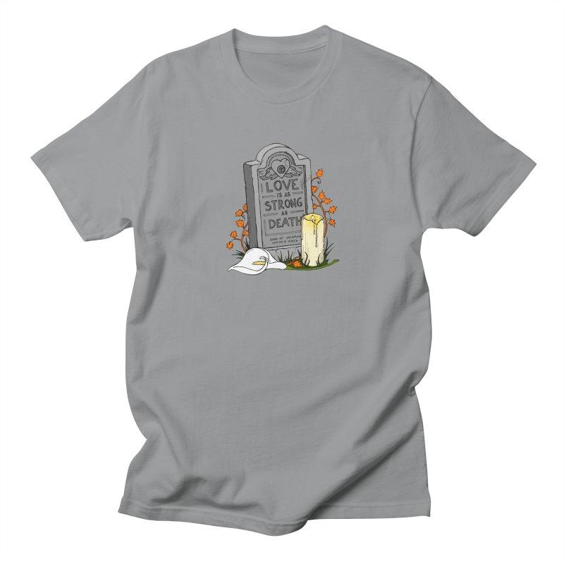Love is Strong as Death Men's Regular T-Shirt by RichRogersArt