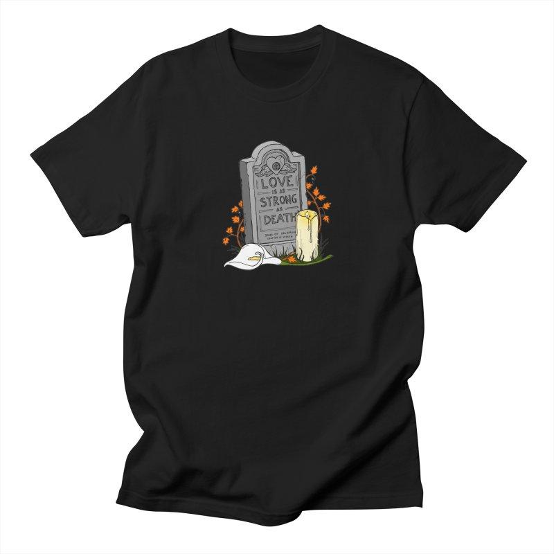 Love is Strong as Death Women's Regular Unisex T-Shirt by RichRogersArt