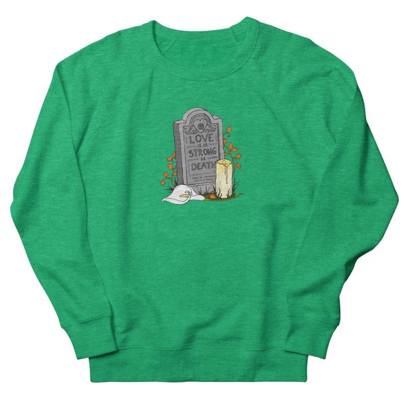 Love is Strong as Death Men's Sweatshirt by RichRogersArt