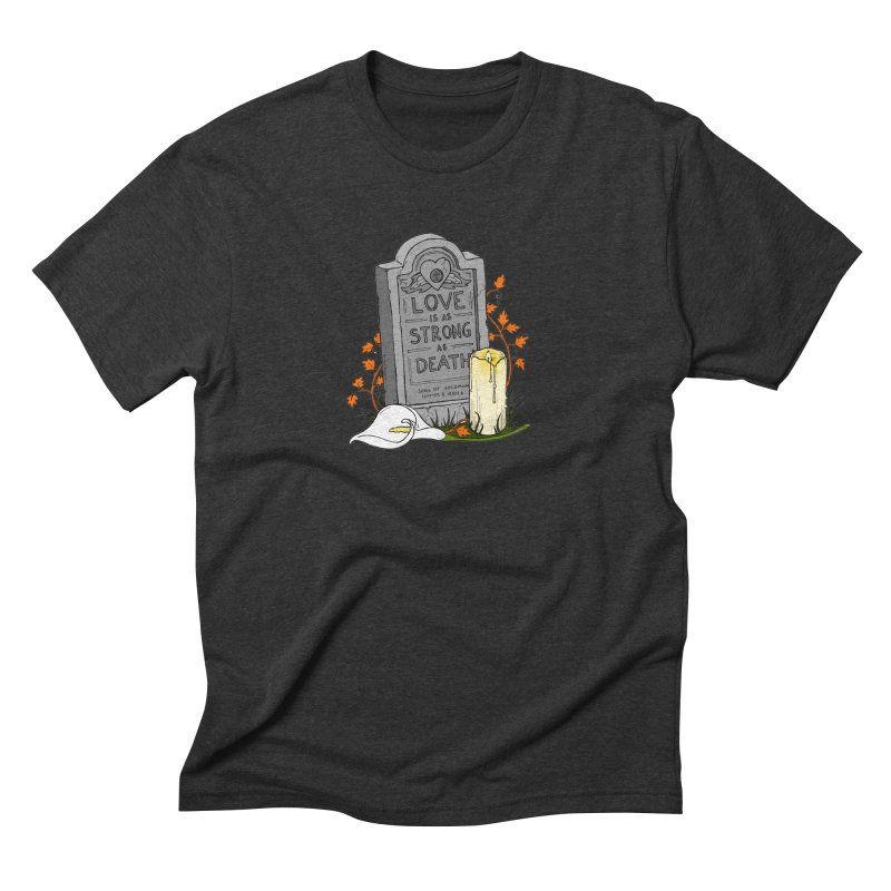 Love is Strong as Death Men's Triblend T-Shirt by RichRogersArt