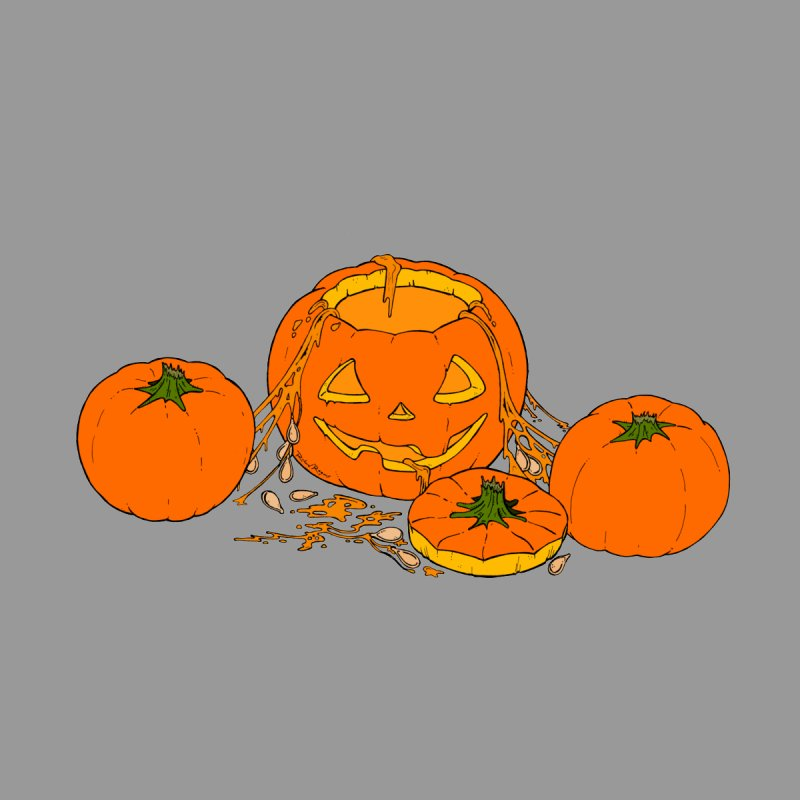 Pumpkin Guts by RichRogersArt