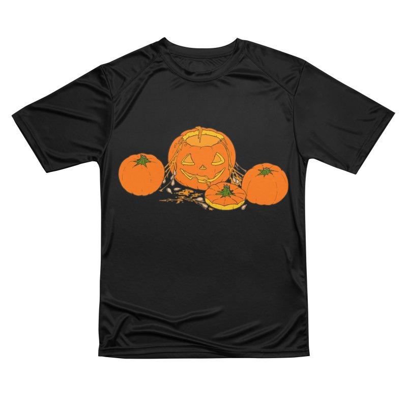 Pumpkin Guts Men's Performance T-Shirt by RichRogersArt