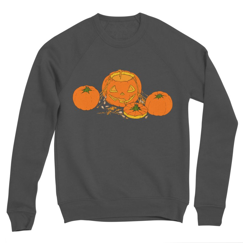 Pumpkin Guts Women's Sponge Fleece Sweatshirt by RichRogersArt