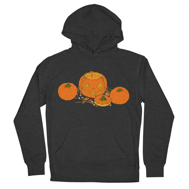 Pumpkin Guts Women's French Terry Pullover Hoody by RichRogersArt