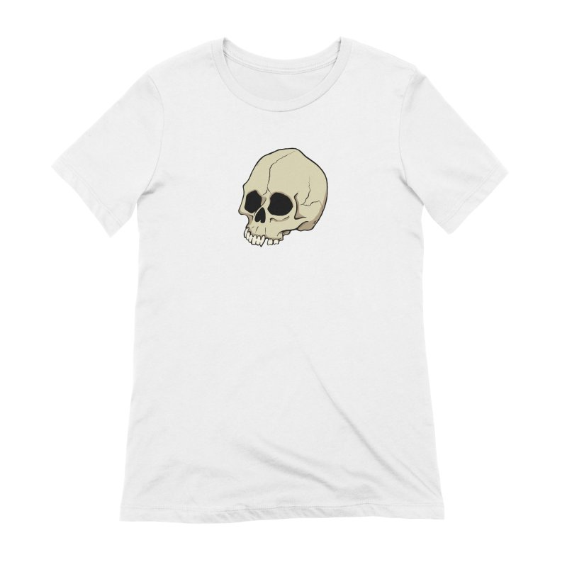 Skull Women's Extra Soft T-Shirt by RichRogersArt