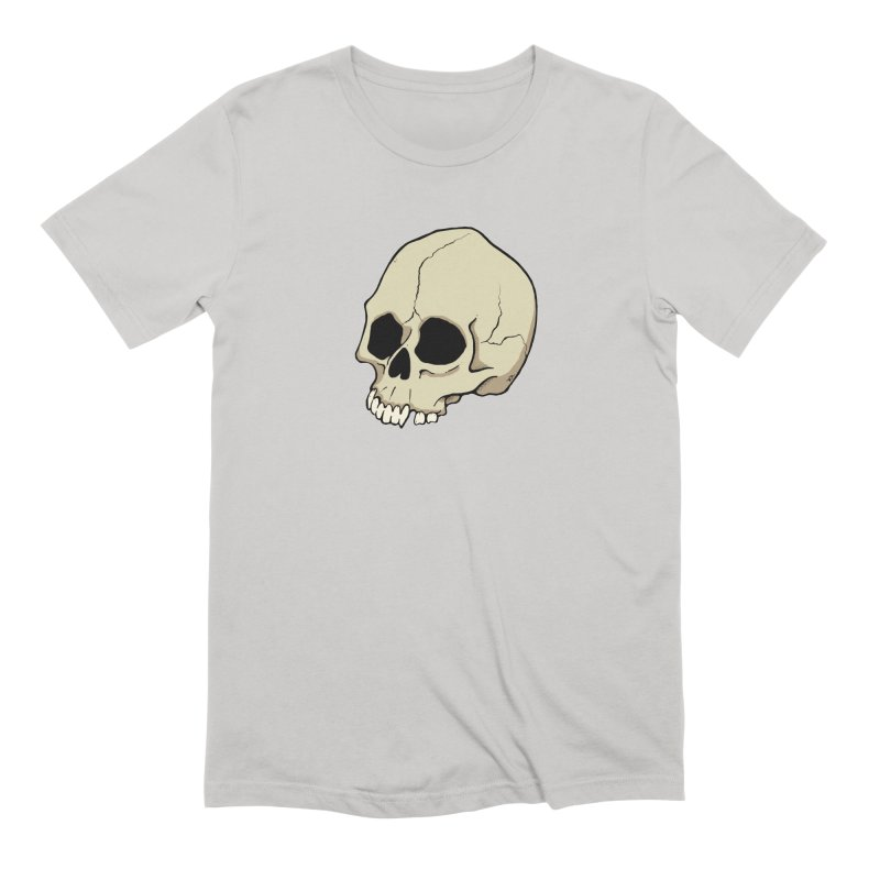 Skull Men's Extra Soft T-Shirt by RichRogersArt