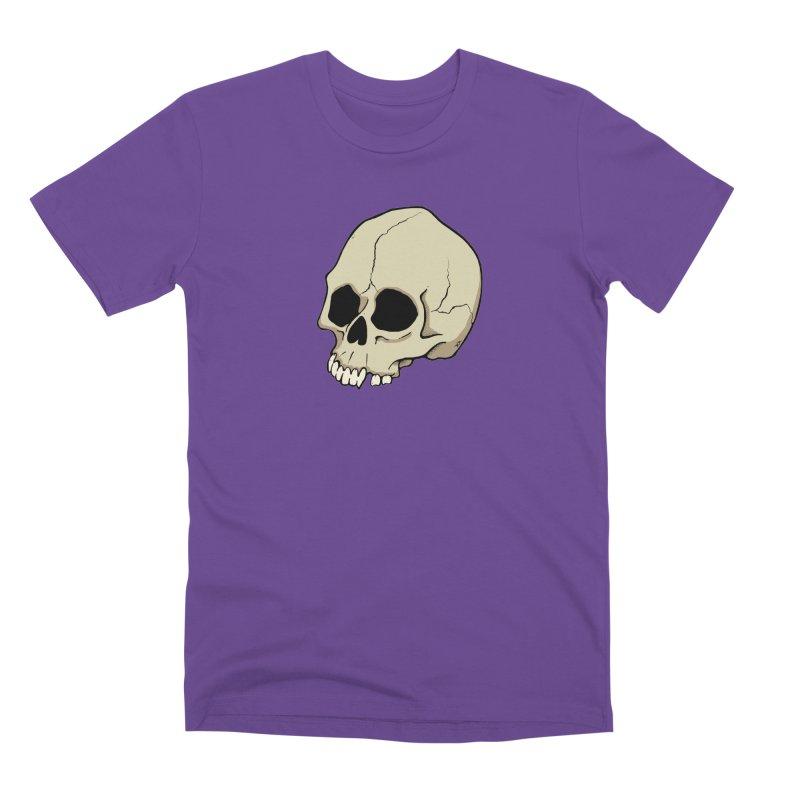 Skull Men's Premium T-Shirt by RichRogersArt